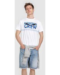 Green Coast - Mens White Short Sleeve T-shirt - Lyst
