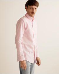 Lauren by Ralph Lauren Regular-fit Pink Printed Shirt