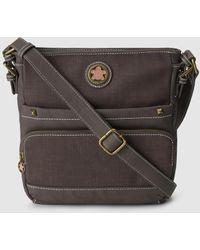 Caminatta - Brown Crossbody Bag With A Long Adjustable Strap - Lyst