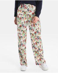 Green Coast - Printed Wide-leg Trousers - Lyst
