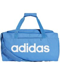 Lyst - adidas Water Repellent Coated Nylon Duffle Bag in Yellow for Men f7637540965fa