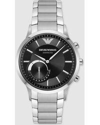 Emporio Armani - Armani Connected Art3000 Steel Smartwatch - Lyst