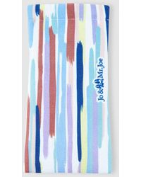 Jo & Mr. Joe Multicoloured Print Glasses Case - Blue