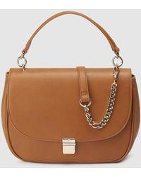 Gloria Ortiz - Violet Large Camel Crossbody Bag With Flap - Lyst