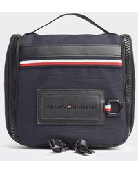 Tommy Hilfiger Blue Toiletry Bag With Zip