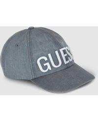 reputable site e3356 c73c1 Grey Cotton Cap With Logo - Gray