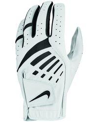 Nike Feel Ix Reg Dura Right-handed Golf Glove - White