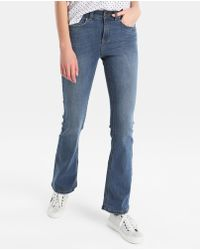 Green Coast - Blue Flared Jeans - Lyst