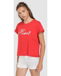 Green Coast - Short-sleeved Embroidered T-shirt - Lyst