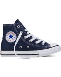 Converse - Chuck Taylor All Star Hi Unisex Casual Trainers - Lyst