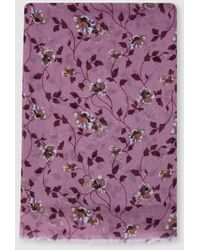 Como Monótono Implacable  BVLGARI Silk Foulard Women Pink - Save 3% - Lyst
