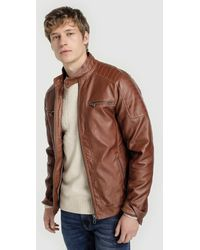 1bad71b10 Brown Biker Jacket