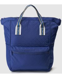 El Corte Inglés - Blue Nylon Backpack With Outer Pockets - Lyst