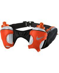 Nike - Double Pocket Flask Belt 20oz Running Bum Bag - Lyst