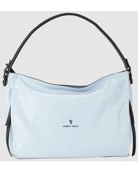 Robert Pietri Sky Blue Hobo Bag With Zip