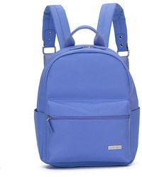 Gloria Ortiz Mauve 10 L Backpack - Blue