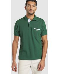 894a7683 Lacoste Short Sleeve Classic Polo Shirt in Brown for Men - Lyst