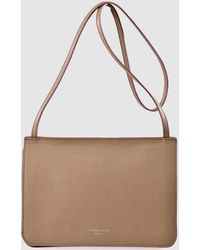 Gloria Ortiz - Adele Brown Leather Crossbody Bag With Magnet - Lyst