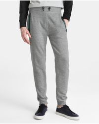 Green Coast - Grey Jogger Tracksuit Bottoms - Lyst