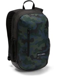 Lyst - Under Armour Ua Hustle Backpack in Gray for Men faaa9c448fabe