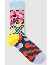 Happy Socks Calcetines Cortos De Hombre Multicolor