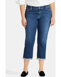 Denim & Supply Ralph Lauren - Plus Size Capri Jeans With Turned-up Cuffs - Lyst