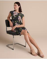 Woman El Corte Inglés Short Polka Dot And Floral Dress - Multicolor
