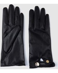 Guess - Wo Black Gloves - Lyst