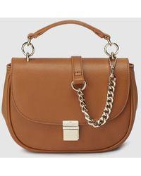 Gloria Ortiz - Violet Camel Mini Crossbody Bag With Flap - Lyst