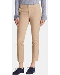 Lauren by Ralph Lauren - Wo Skinny Trousers With Front Fastening - Lyst