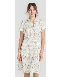indi & cold - Printed Shirt Dress - Lyst