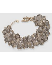Gloria Ortiz - Grey Glass Bracelet - Lyst