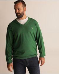 Jersey De Hombre Verde Con El Cuello Alto Tallas Grandes Gant De Hombre De Color Verde Lyst