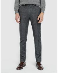 Mirto - Regular-fit Grey Chinos - Lyst