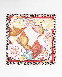 Guess Tan Printed Handkerchief - Natural