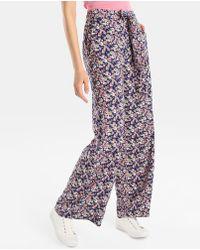 Green Coast - Multicoloured Floral Print Trousers - Lyst