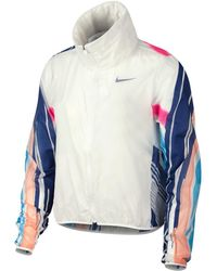 7155c1598251 Nike Jacket Impossibly Light (W) in Pink - Lyst