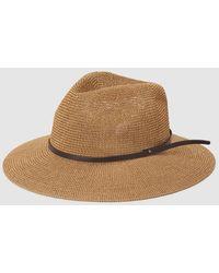 El Corte Inglés Camel Hat With Brown Strap