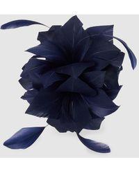 El Corte Inglés Tocado De Diadema Con Flor En Azul Marino