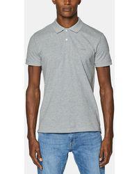 Esprit Light Gray Short Sleeve Polo Shirt