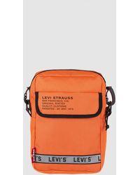 Levi's Levis Orange Crossbody Bag With Zip