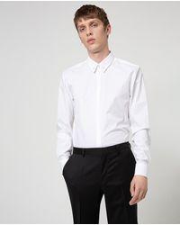 HUGO Camisa Fácil Plancha De Hombre Slim Lisa Blanca - Blanco