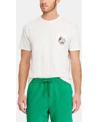 Polo Ralph Lauren - Blue Short-sleeve T-shirt - Lyst