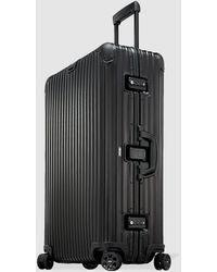 RIMOWA Topas Stealth Rigid Black 98 L Large Suitcase