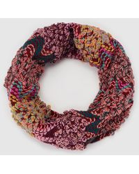 Green Coast - Multicoloured Picot Knit Cowl - Lyst