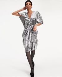Tommy Hilfiger Tommy X Zendaya Dress With Frill And Stars - Metallic