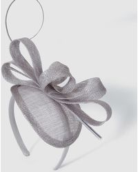 El Corte Inglés Gray Hairband With A Sinamay Bow