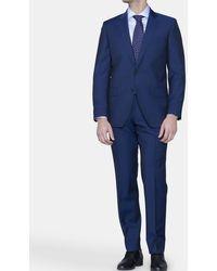 Mirto - Regular-fit Plain Blue Suit - Lyst