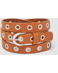 El Corte Inglés Brown Belt With Eyelets