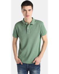 Green Coast - Green Short Sleeved Polo Shirt - Lyst